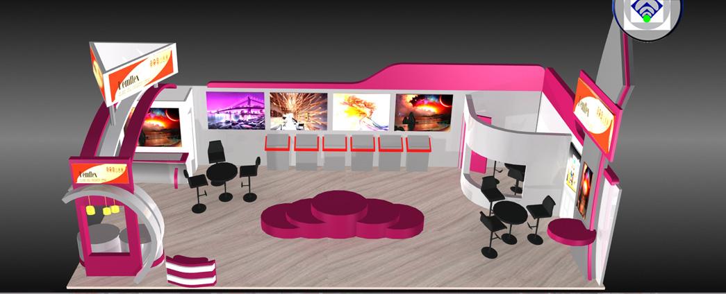 Exhibition Stall Banner : Exhibition stall designer mumbai india design services